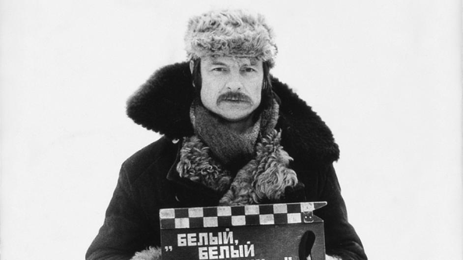 Tarkovskij při natáčení filmu Zrcadlo