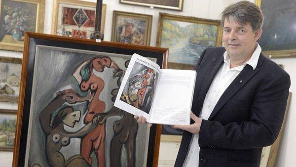 Galerie Kodl patřící Martinu Kodlovi loni vydražila umění za 268 milionů korun.