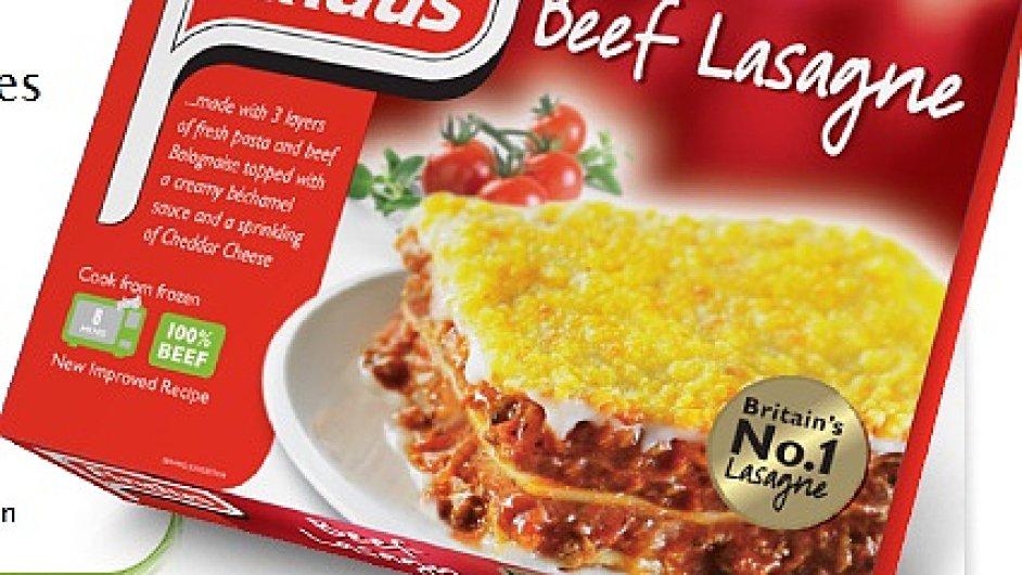 Hovězí lasagne Findus