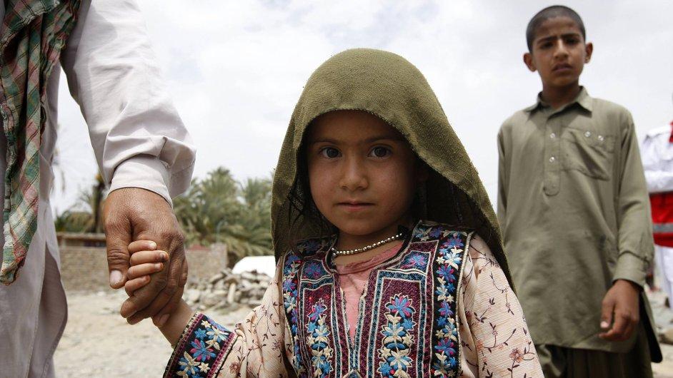 Íránské děti, ilustrační foto