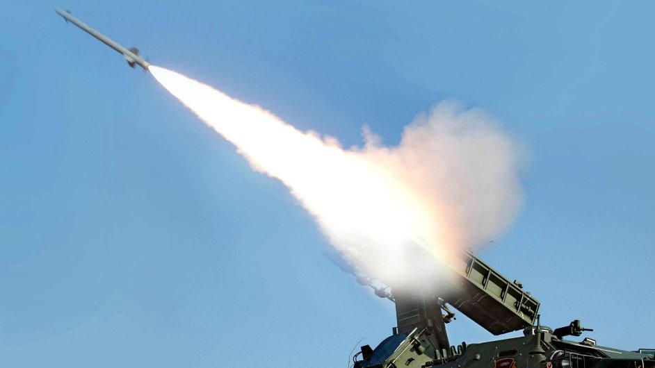 Cvičení protivzdušné obrany KLDR.