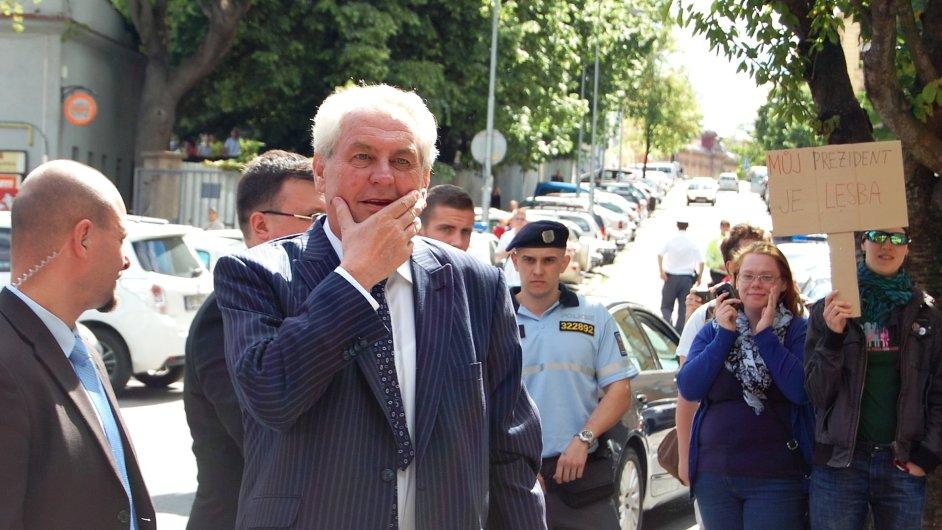 Prezident Zeman v Brně