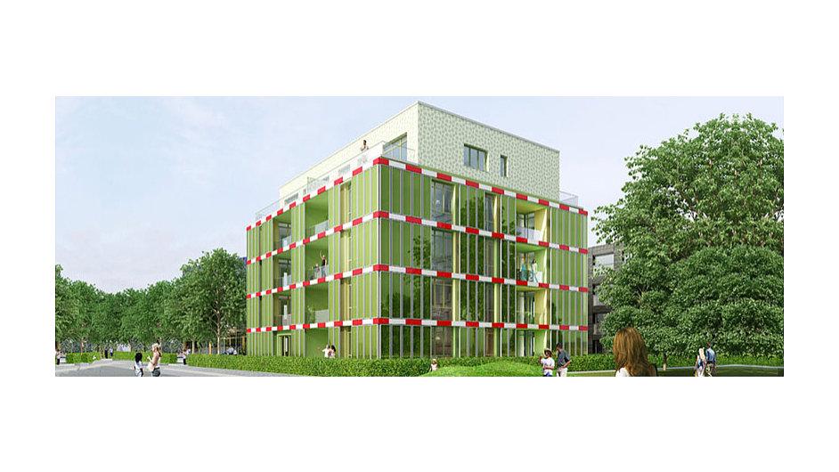 Na okraji Hamburku postavili první dům poháněný řasami.