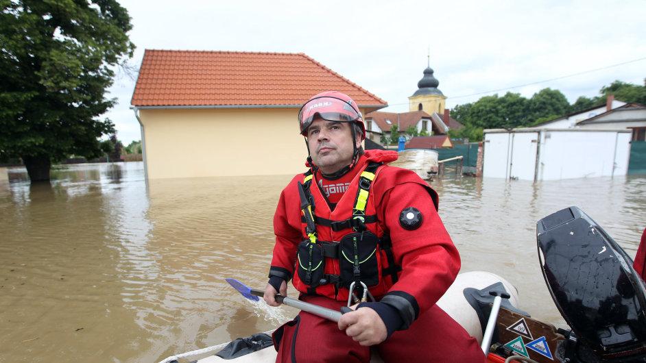 Povodeň, den třetí