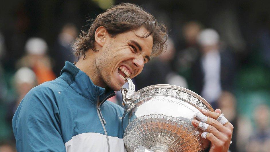 Rafael Nadal poosmé vyhrál French Open