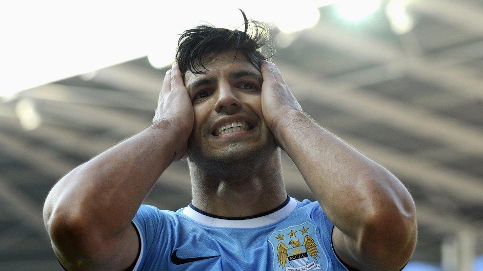 Sergio Agüero z Manchesteru City