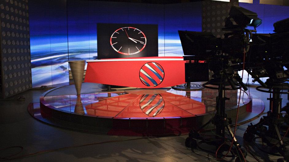 Studio Televizních novin TV Nova.
