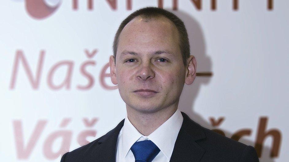 Michal Hozák, obchodní ředitel Infinity