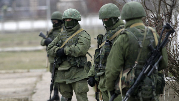 Ru�t� voj�ci na Ukrajin�