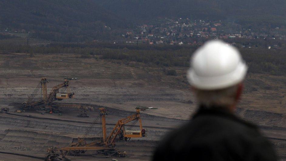 Těžařské firmy dnes státu odvádějí jen 1,5 procenta z hodnoty vytěženého hnědého uhlí