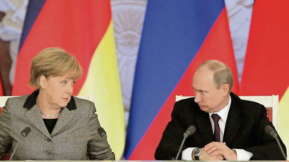 Kancléřka proti Rusku