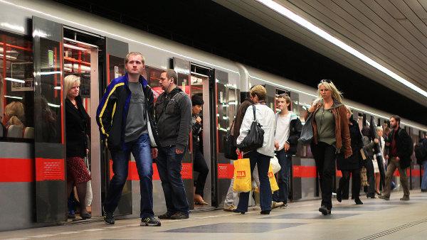 Metro D má odlehčit přetížené lince C - Ilustrační foto.