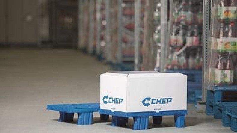 CHEP uvedl na trh novou čtvrtpaletu