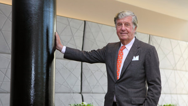 Albert Darboven (82), kávový král.