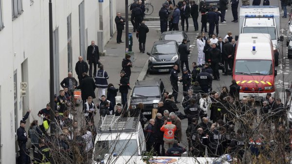 Místo střelby v Paříži