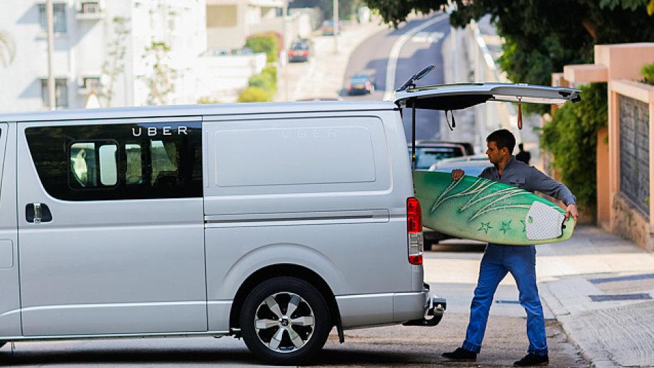 Společnosti Uber zkouší nákladní dopravu