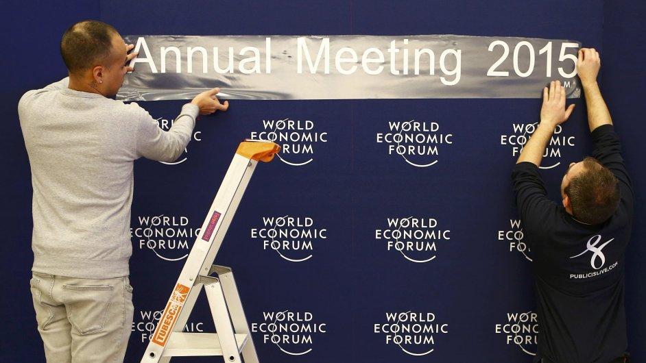 Světové ekonomické fórum v Davosu 2015
