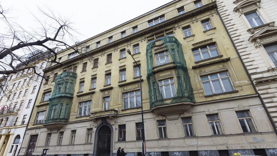 Dům v pražské Washingtonově ulici