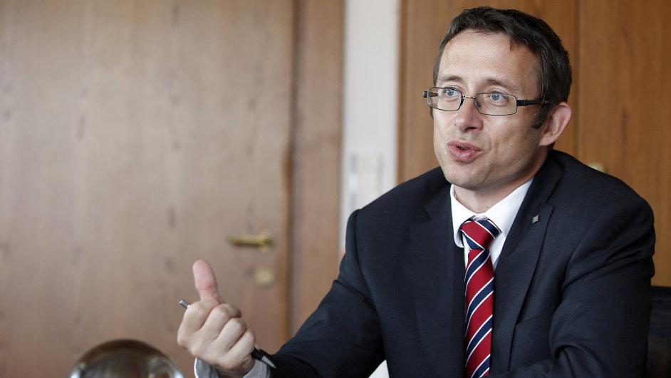 Tomáš Holub - ředitel měnové sekce ČNB