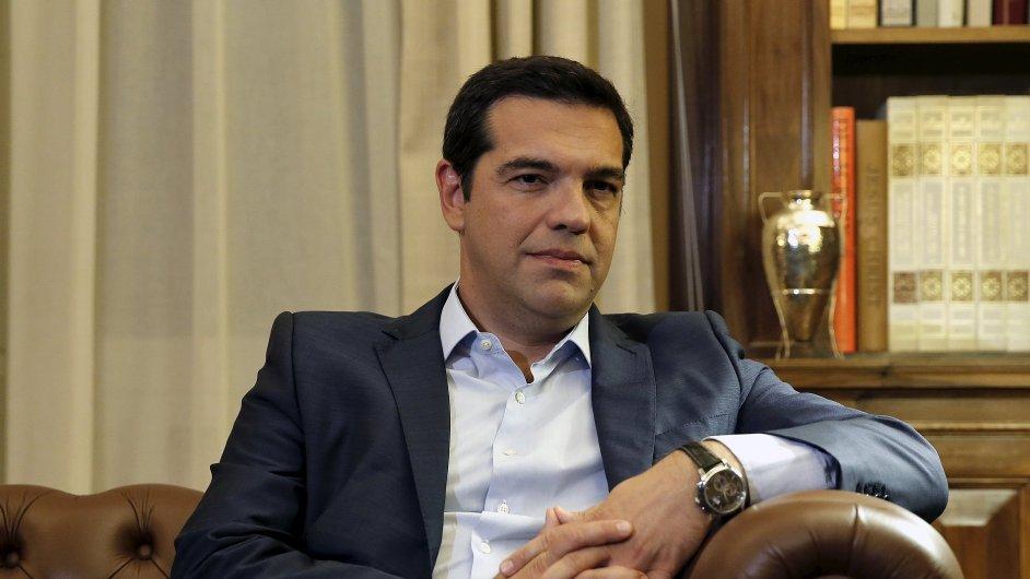 Syriza premiéra Tsiprase zatím o dvě procenta vede v předvolebních průzkumech.