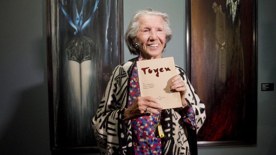 Snímky z výstavy Toyen