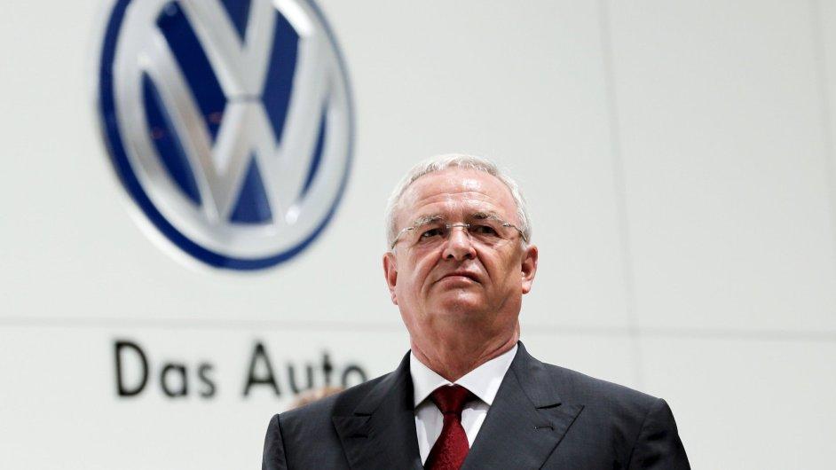 Martin Winterkorn rezignoval na post generálního ředitele koncernu Volkswagen.