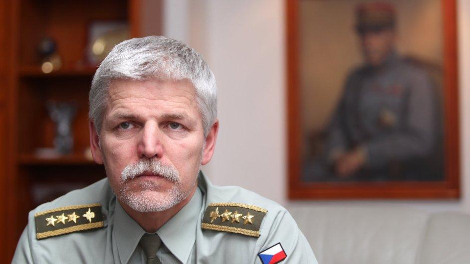 Generál Petr Pavel, předseda Vojenského výboru NATO.