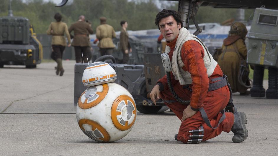 Snímek z filmu Star Wars: Síla se probouzí.