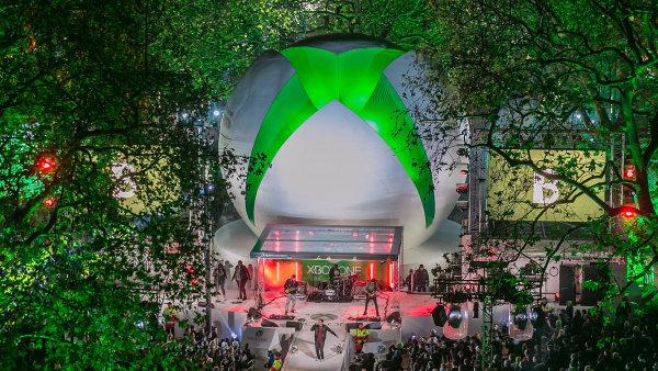 Xbox One - oslavy zah�jen� prodeje v Evrop�