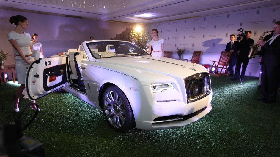 Společnost Rolls-Royce Motor Cars otevírá první showroom v ČR v přízemí hotelu Intercontinental