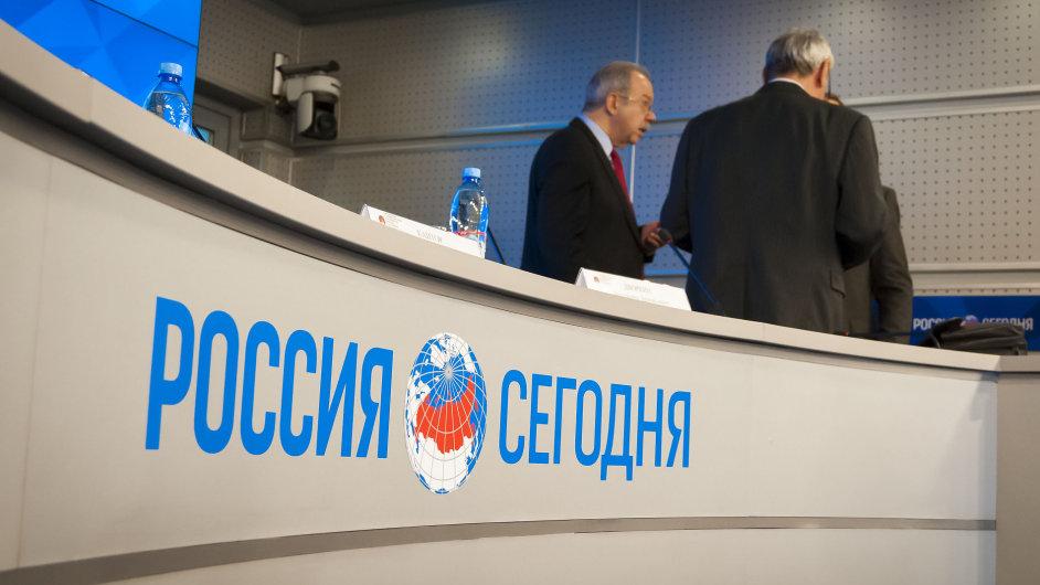 Ruská státní televizní společnost Rossija segodňa.