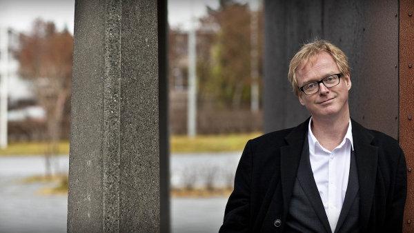 Islandský ekonom Jon Danielsson.