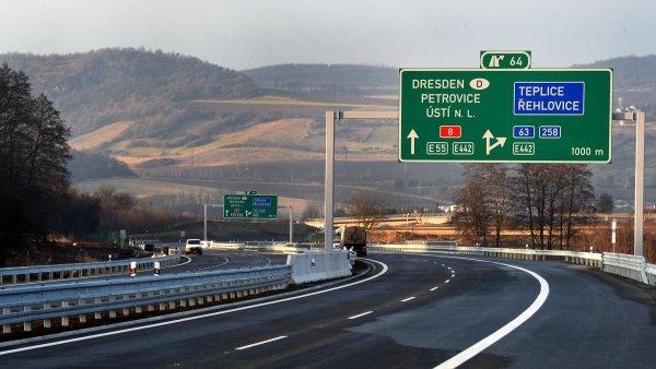 Dokončená dálnice D8 láká investory.