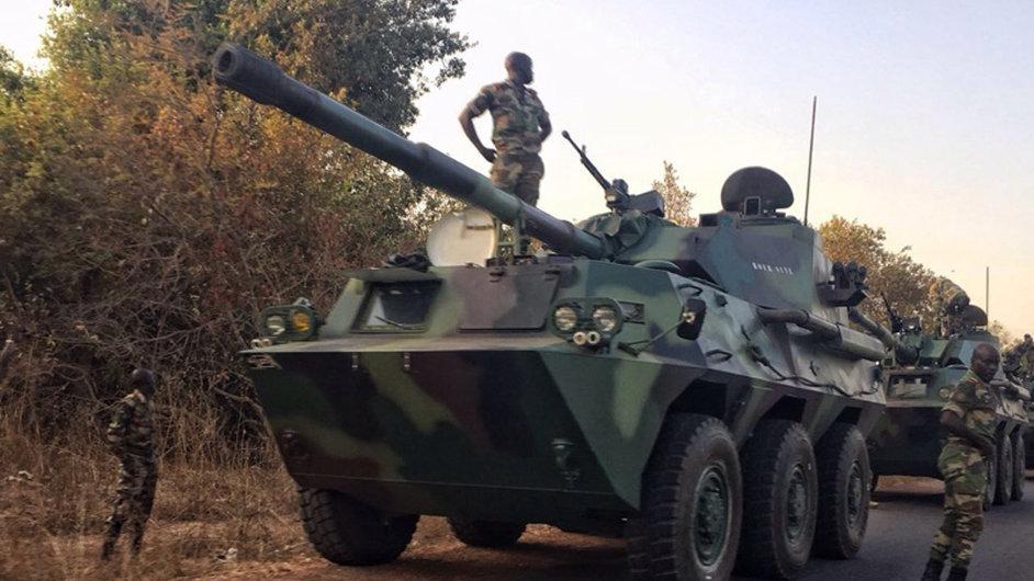 Senegal, armáda, tank