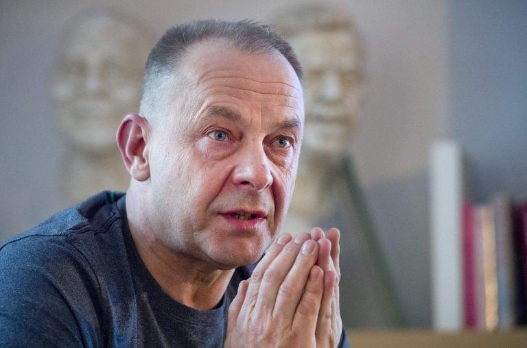 Režisér Václav Marhoul ve středu v Knihovně Václava Havla představil film Nabarvené ptáče. Natáčet začne ještě tento měsíc.