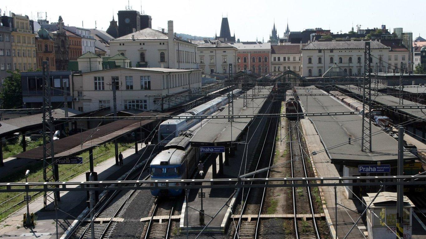 Masarykovo nádraží v Praze