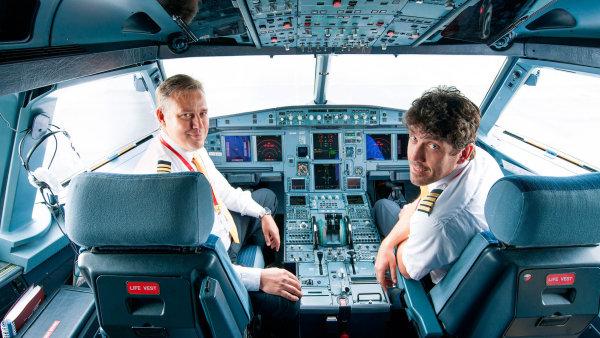 ČSA loni díky růstu nabraly 27 nových pilotů - Ilustrační foto.