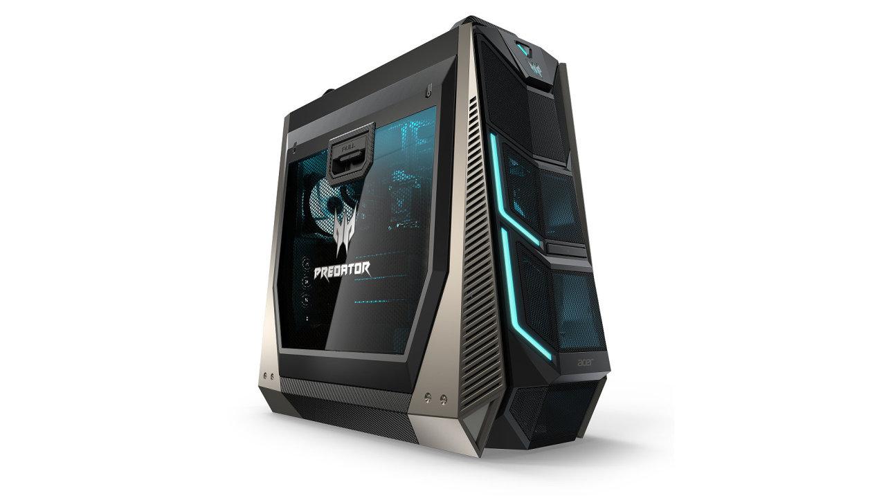 Acer Predator ORION 9000 má až 18 procesorových jader a 4 grafické karty AMD Vega