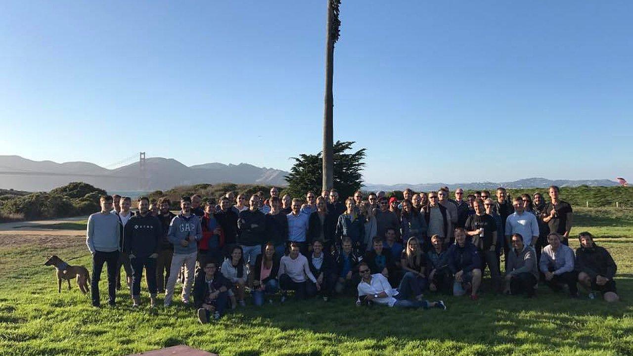 Úvodního setkání českých start-upů v San Francisku se zúčastnilo na 60 lidí.