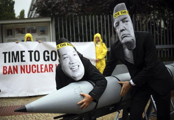 Nobelova cena ICAN jaderné zbraně