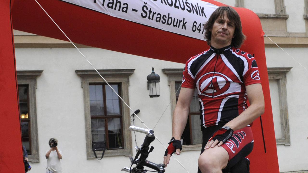 Velký sportovec: Edvard Kožušník se pokusí