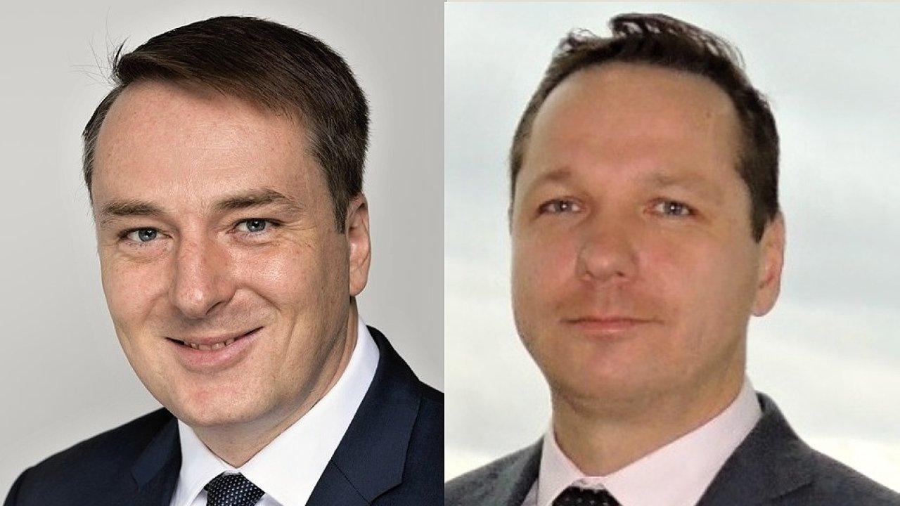Josef Rech a Petr Fiala posílili manažerský tým Raiffeisenbank