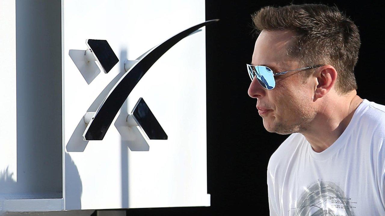Podnikat Elon Musk.