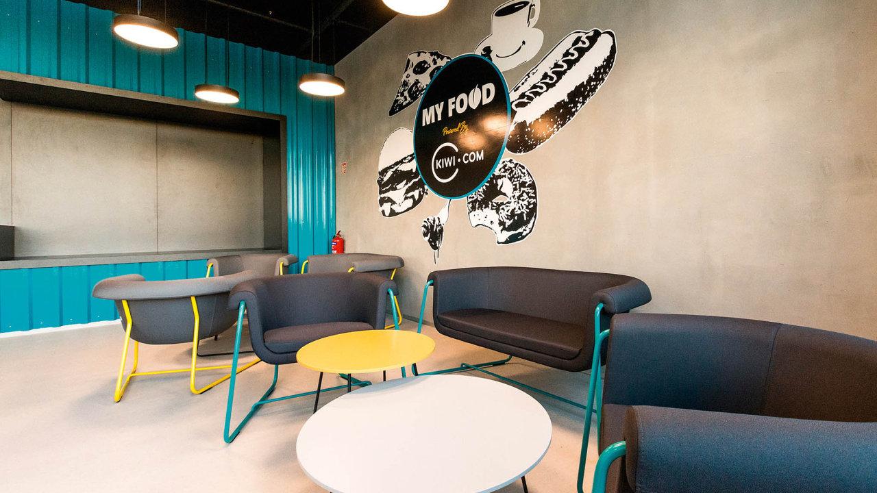 Z pohledu HR působí krásné a moderní prostory jako lákadlo pro potenciální uchazeče o zaměstnání.
