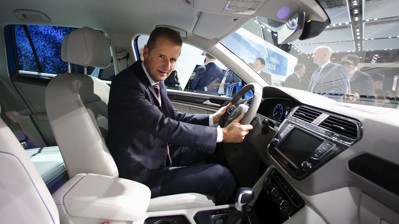 Herbert Diess, Volkswagen, šéf