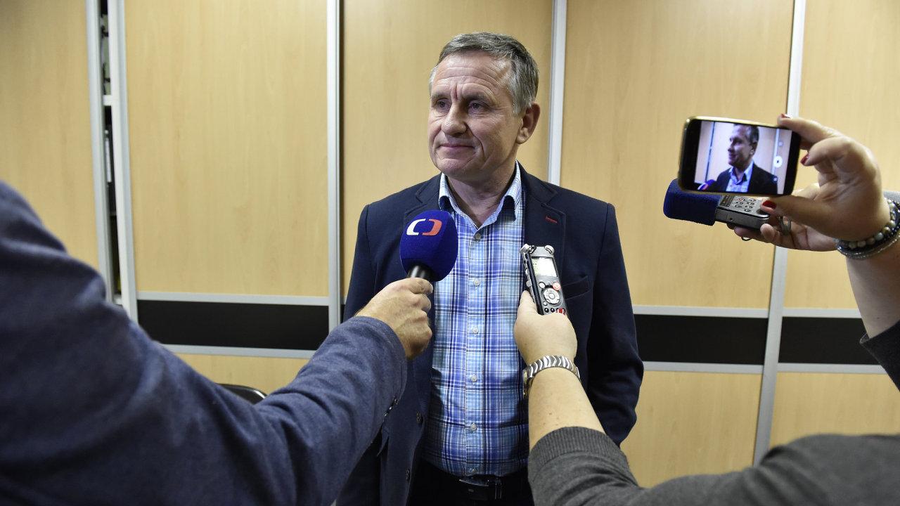 Senátor Jiří Čunek za KDU-ČSL obhájil senátorské křeslo v obvodu Vsetín.
