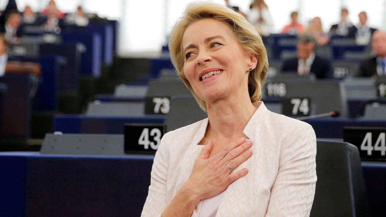 Příští Evropskou komisi povede dosavadní německá ministryně obrany Ursula von der Leyenová.