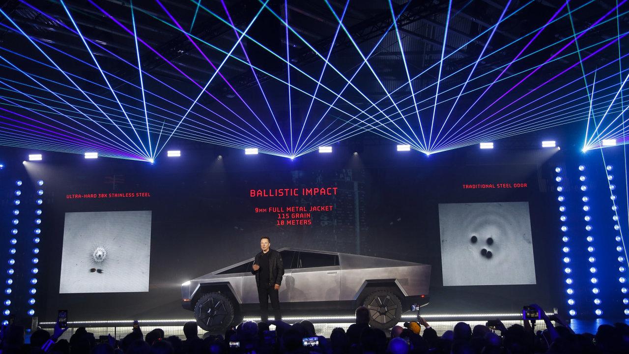 Cybertruck, Tesla, pick-up