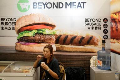 Společnost Beyond Meat si odexpanze vČíně hodně slibuje. Míří napulty tamních supermarketů.