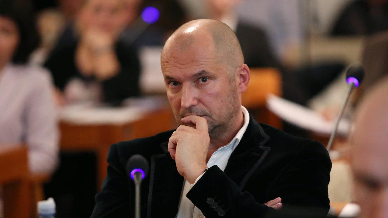 Vlivný expolitik ANO Jiří Švachula je jednou zcentrálních postav kauzy Stoka.